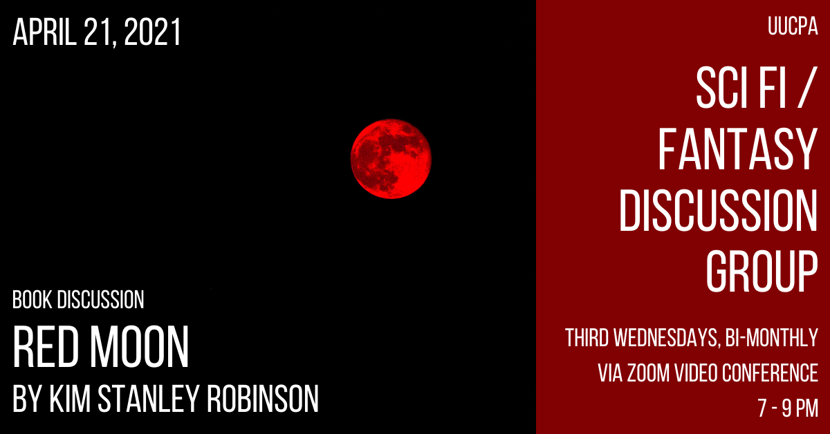 Sci-Fi and Fantasy Discussion Group: Red Moon