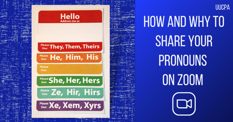 How to share your pronouns on Zoom (and why)