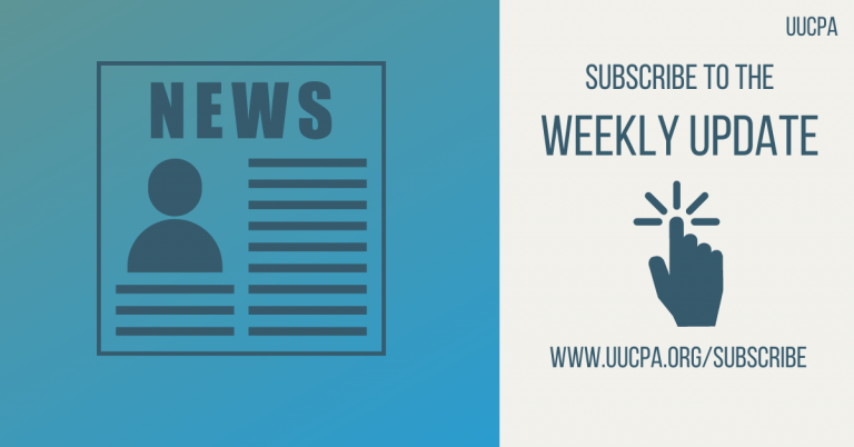 Subscribe to the UUCPA Weekly Update
