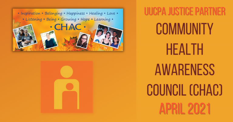 April 2021 Justice Partner - Community Health Awareness Council