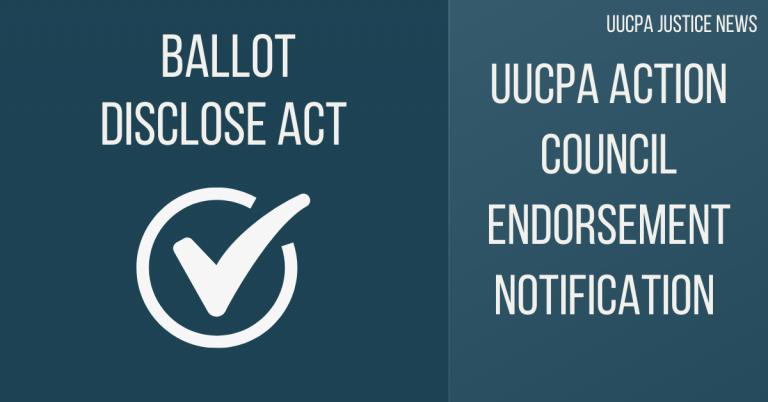 Action Council Endorsement: Ballot Disclose Act