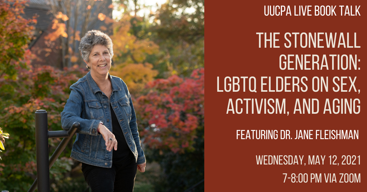 Live Book Talk: The Stonewall Generation: LGBTQ Elders on Sex, Activism, and Aging