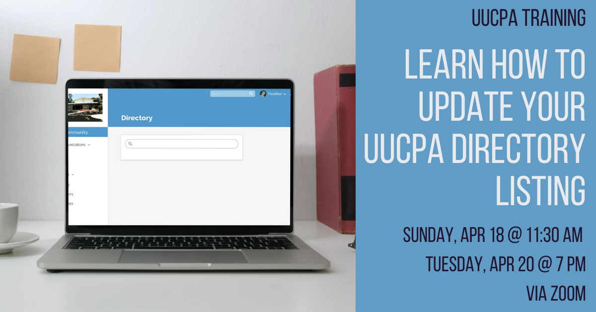 Update your UUCPA Directory Listing