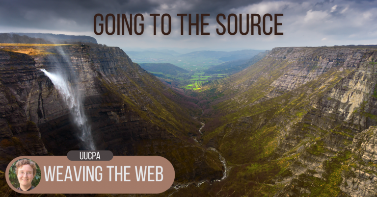 Weaving the Web: Going to the source