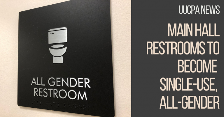 Main Hall Restrooms to Become Single-Use, All-Gender
