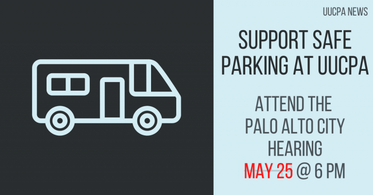 Support Safe Parking at city hearing (new date: May 25 @ 6pm)