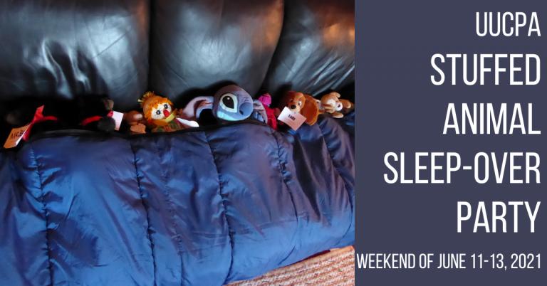 Stuffed Animal Sleepover coming in June