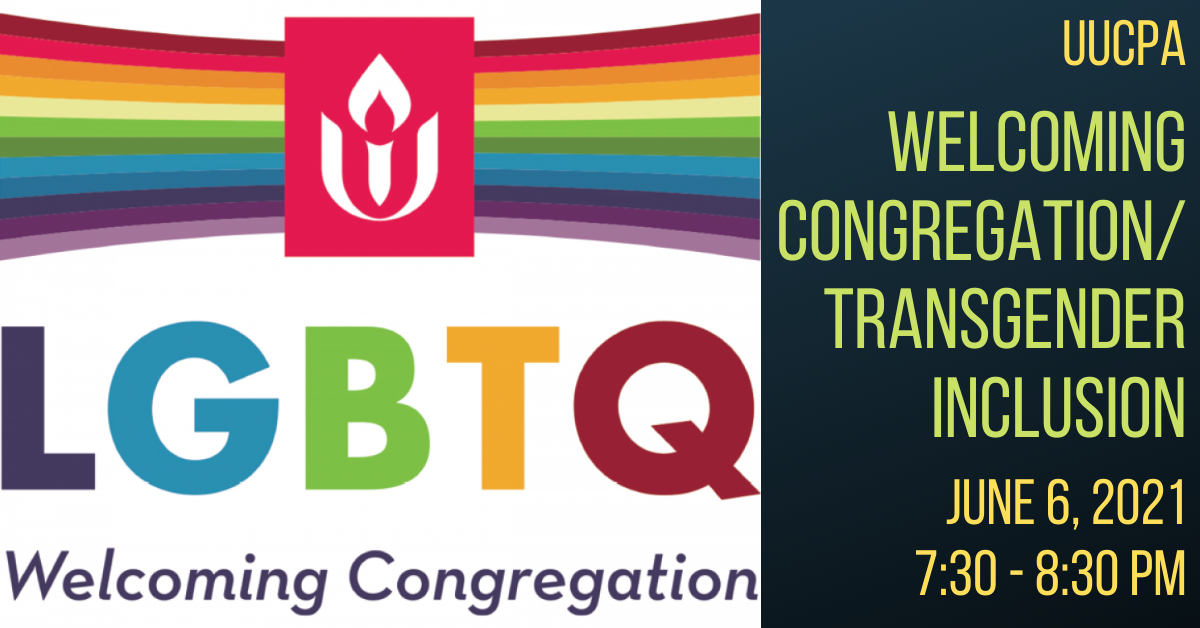 Welcoming Congregation / Transgender Inclusion