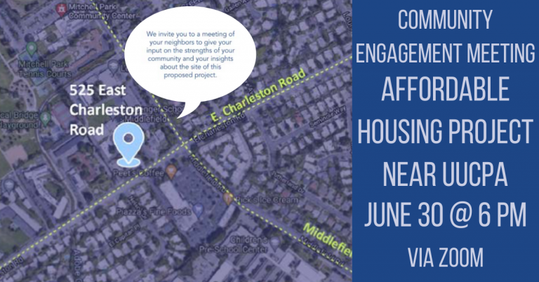 Community Engagement - 525 E. Charleston Road