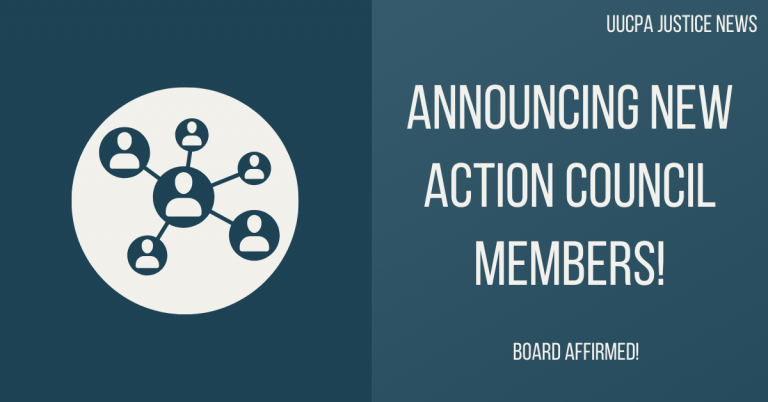 Announcing New Action Council Members!