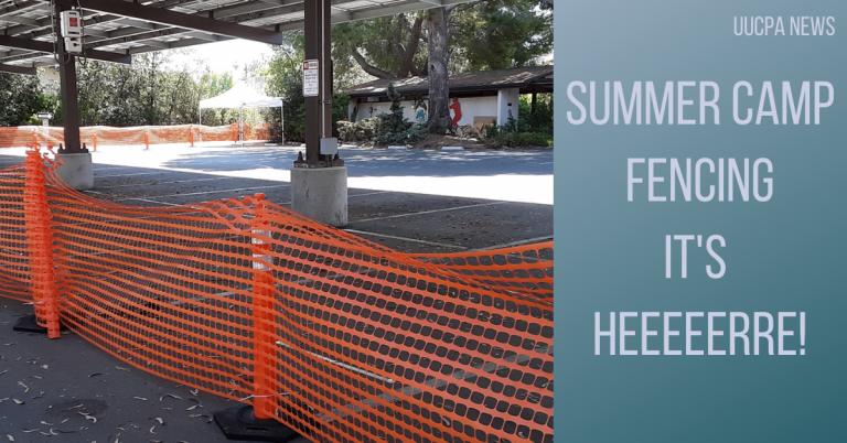 Summer camp fencing: it's heeeeerre!