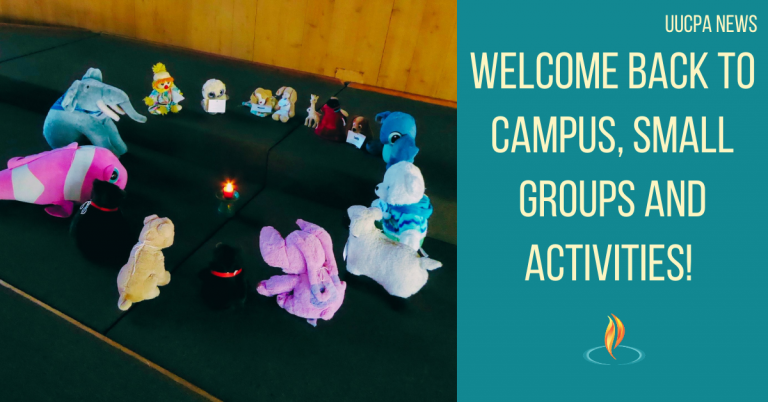 Welcome Back to Campus, Small Groups and Activities!
