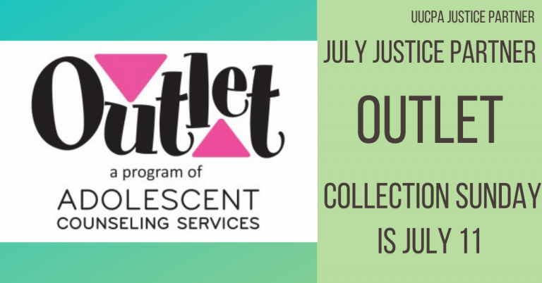July Justice Partner (Outlet) collection Sunday is July 11