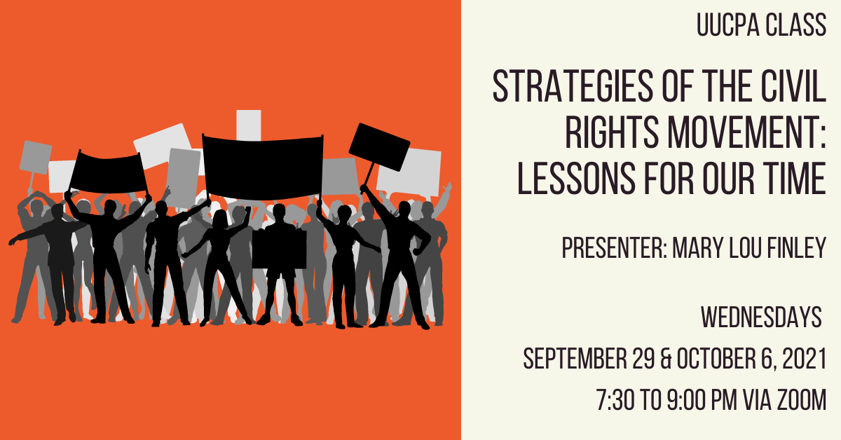 Strategiesof theCivilRightsMovement: Lessons for Our Time