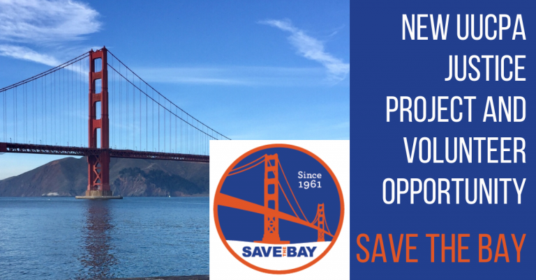 Save the Bay Project for UUCPA