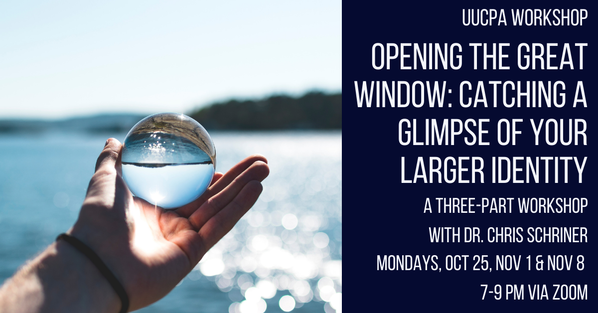 ARE Workshop: Opening the Great Window